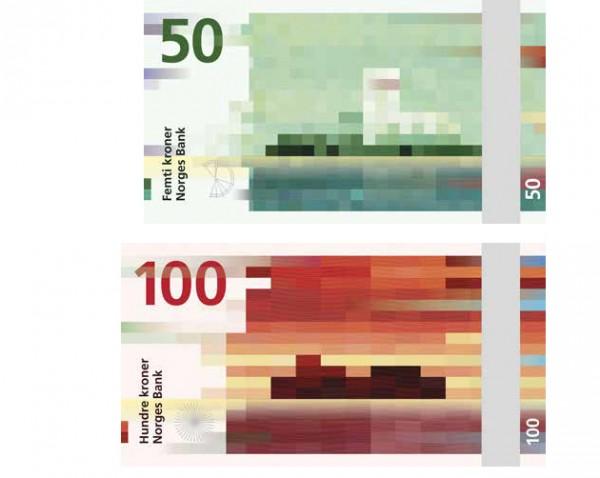 Norges nye seddelserie: havet - utstillingskatalog