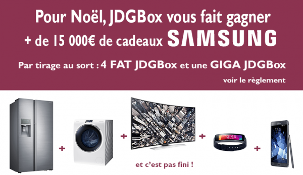giga jdgbox on ajoute une machine laver et un frigo samsung les chroniques techno sosmonordi. Black Bedroom Furniture Sets. Home Design Ideas