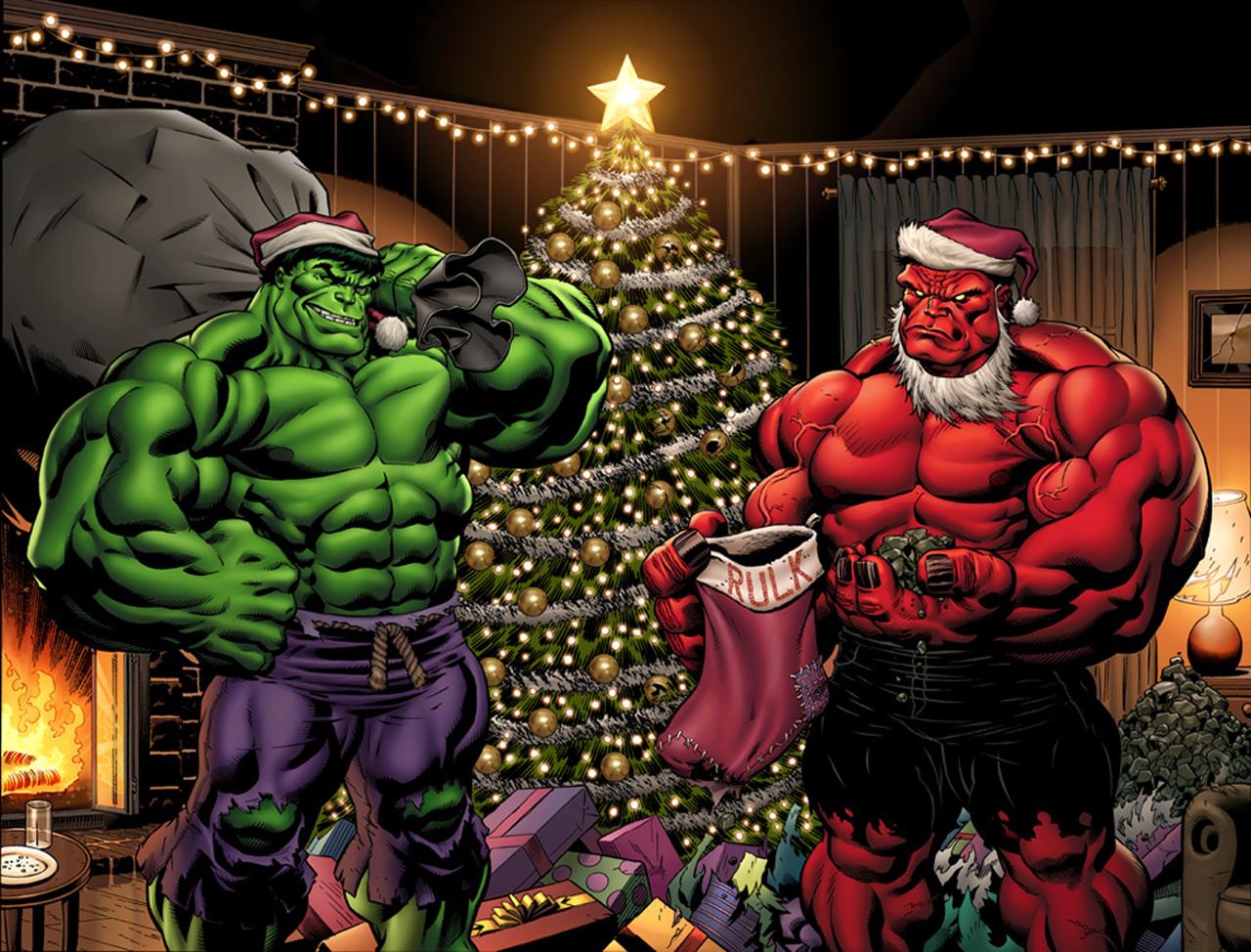 hulk-is-santa