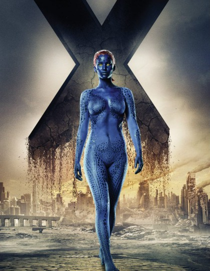 X-Men-Days-of-Future-Past-character-poster-Jennifer-Lawrence-as-Mystique