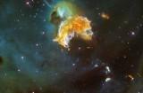 Restes d'une supernova après son explosion