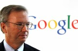 Google chairman Eric Schmidt waits for press conference at Google Korea office in Seoul, South Korea, Tuesday, Nov. 8, 2011. Google chairman Eric Schmidt has mourned Steve Jobs' death but defended Google as a great innovator despite the Apple co-founder's allegations that the Internet search giant stole innovations from the iPhone. (AP Photo/Lee Jin-man)