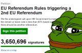 Petition en ligne brexit